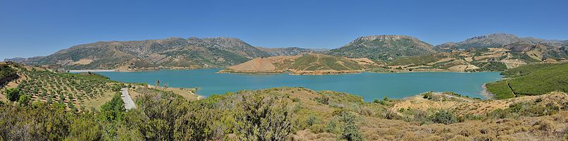 Crete: Potamon barrier lake