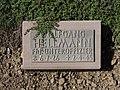 Kriegsopferfriedhof Kloster Arnsburg Grabstein Wolfgang Hellmann, FHj.-Unteroffizier.JPG