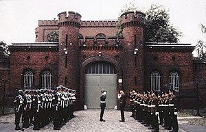 Spandau Prison - Changing the guard at Spandau Prison