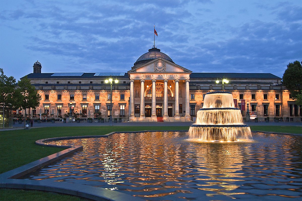 Kurhaus Wiesbaden Blaue Stunde 290 You Can Still Travel To