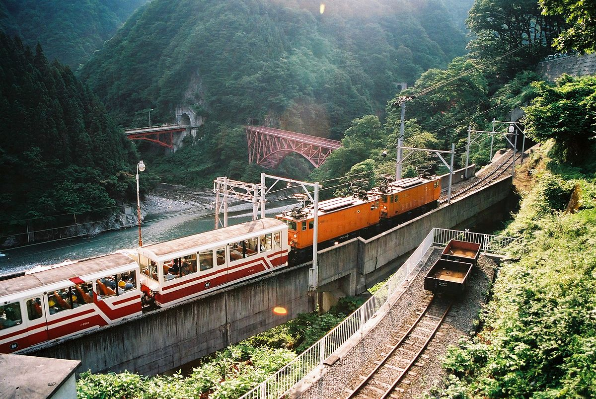 Kurobe Gorge Railway Wikipedia