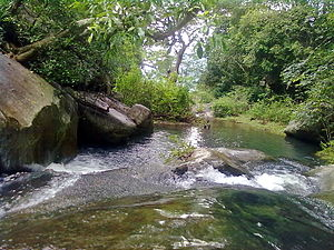 Kutladampatti Falls - Image: Kutladampatti near Vadipatti by Essaar on 17102011 3