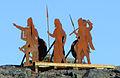 L'Anse aux Meadows, Norse statues.jpg