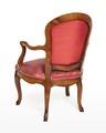 Länstol, baksida, 1700-talets mitt - Hallwylska museet - 110067.tif