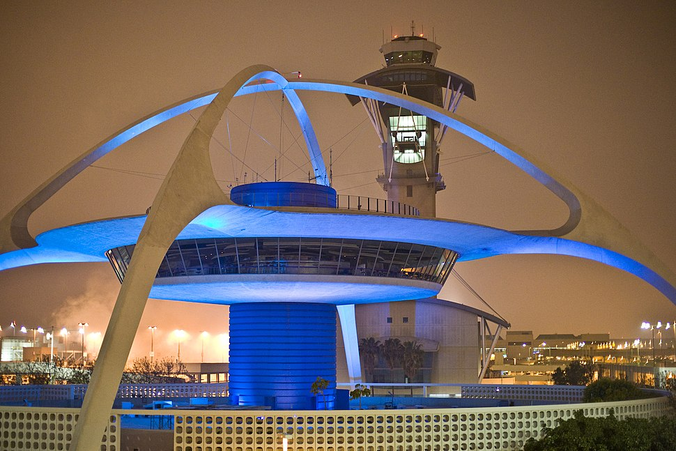 Theme Building at Los Angeles International Airport