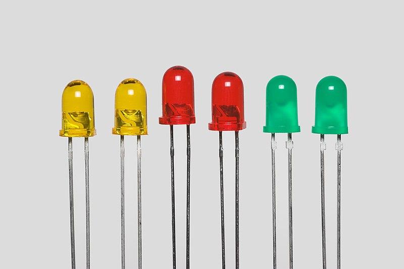 Druhy LED diod