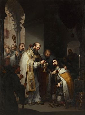 José Gutiérrez de la Vega - The Last Communion of San Fernando.