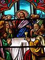 La Cène, le dernier repas de Jésus - église d'Arthun.JPG
