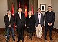 La alcaldesa entrega la Llave de Madrid al presidente chino en su visita al Ayuntamiento 13.jpg