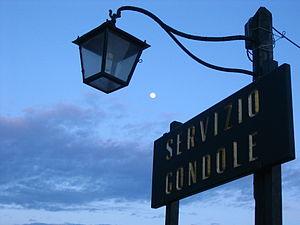 La luna desde Venecia