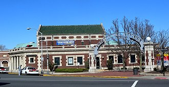 Lackawanna Terminal (Montclair, New Jersey) - Image: Lackawanna Sta entry Montclair jeh