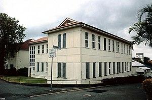 Lady Bowen Hospital - Former Lady Bowen Hospital, 1998
