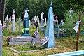 Ladyn Liubomlskyi Volynska-grave of the soviet gunner radio operator-2.jpg