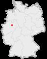 Lage der Stadt Beckum in Deutschland.png
