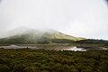 Lagoa da Barreira, vista parcial por entre as brumas, concelho da Madalena do Pico, ilha do Pico, Açores, Portugal.JPG