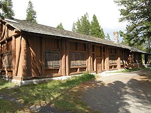 Lake Fish Hatchery Historic District - Image: Lake Fish Hatchery, Yellowstone