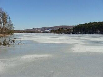 Rocky Gap State Park - Image: Lake Habeeb 2