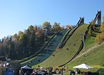 Lake Placid Olympic Ski Jumping Complex from below.jpg