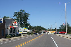 Downtown Lakewood on WIS 32