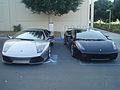 Lamborghini murcielago lp640 and gallardo superlegerra (2993052978).jpg