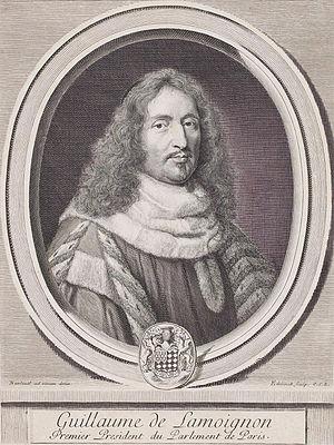 Guillaume de Lamoignon - Guillaume de Lamoignon.