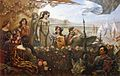 Lancelot and Guinevere by Herbert James Draper.jpg