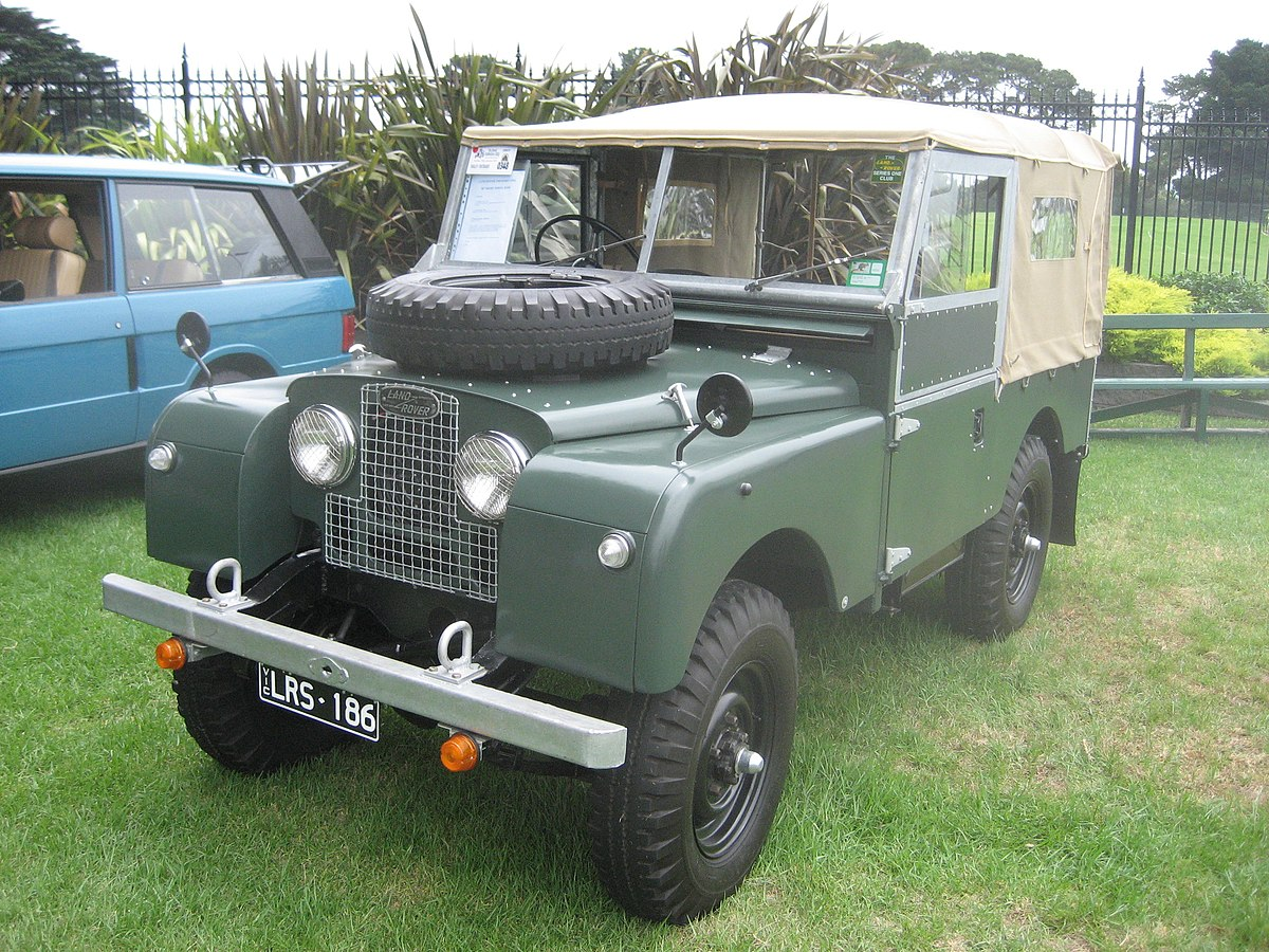 Land Rover Defender Successor >> Land Rover Series - Wikipedia