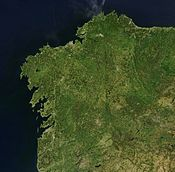 Land of Galicia, NASA satellite image.jpg