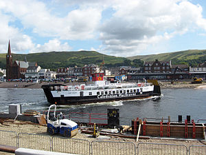 MV Loch Riddon at Largs