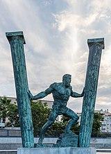 Las dos columnas de Hércules - Ábyla y Calpe, Ceuta, España, 2015-12-10, DD 58-60 HDR.JPG