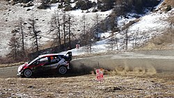 Latvala at Col de Moissière, Rallye Monte-Carlo 2019.jpg