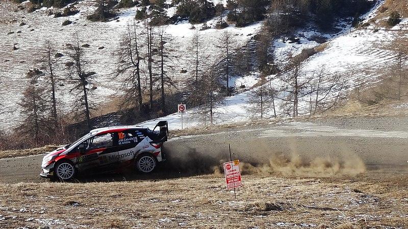 File:Latvala at Col de Moissière, Rallye Monte-Carlo 2019.jpg
