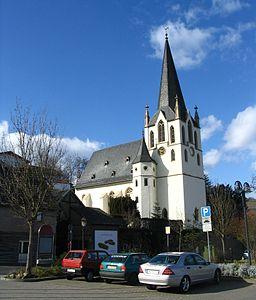 Kirche von Laubenheim an der Nahe