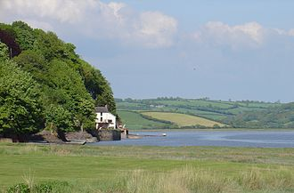Laugharne - Dylan Thomas's boathouse