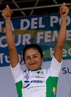 Laura Camila Lozano Ramírez cyclist