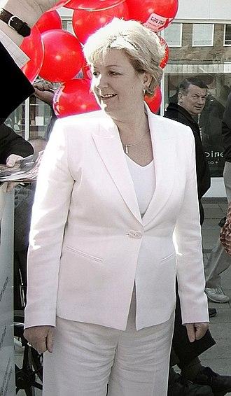 Laura Moffatt - Laura Moffatt, 6 March 2006, launching the 2006 local election campaign in Crawley.
