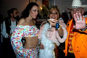 Max Hardcore - Max Hardcore with frequent co-stars Layla Rivera (left) and Catalina (middle)
