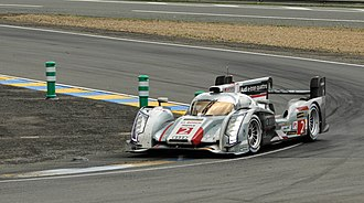 2013 24 Hours of Le Mans - The race-winning No. 2 Audi R18 e-tron quattro