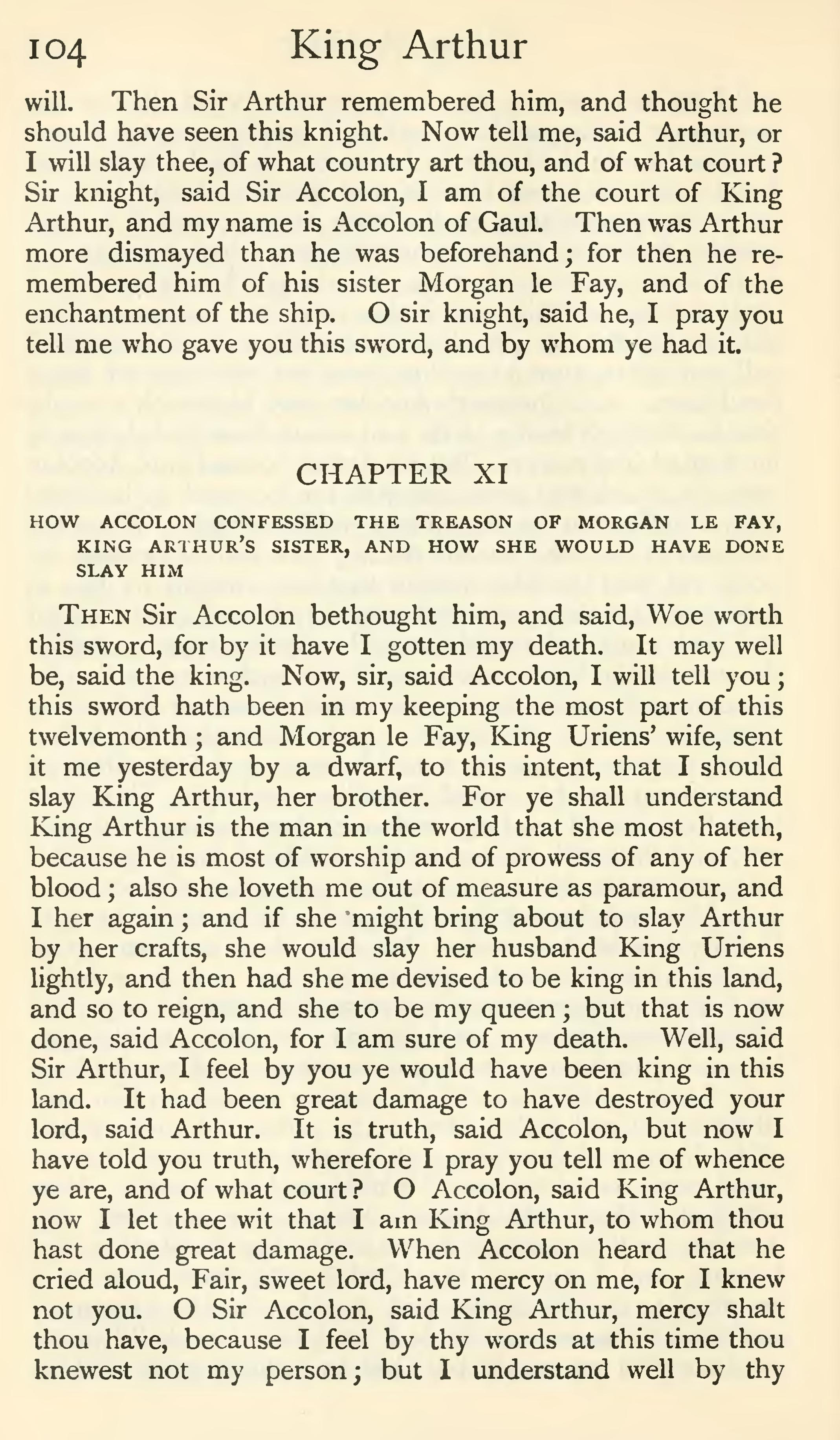 morte darthur essay A literary analysis of imagination in morte d'arthur pages 2 words 504 view full essay sign up to view the rest of the essay read the full essay more essays like this: imagination in morte d arthur, king arthur, morte d arthur not sure what i'd do without @kibin.