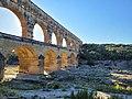 Le Pont du Gard, Août 2021, à Vers-Pont-du-Gard.jpg