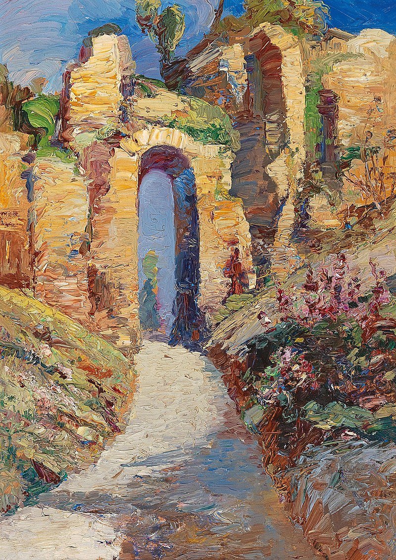 Lea von Littrow - Porta Cumae.jpg