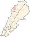 Lebanon districts Koura.png