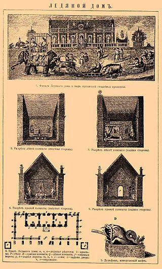 """""""Стихи"""" к свадьбе в Ледяном Доме 1740 года."""