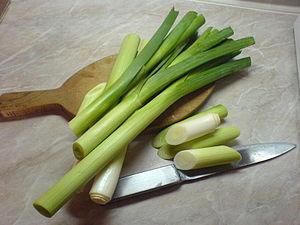 Leeks (Allium porrum)