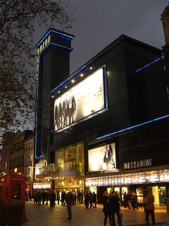 Odeon Leicester Square Cinema in London, England