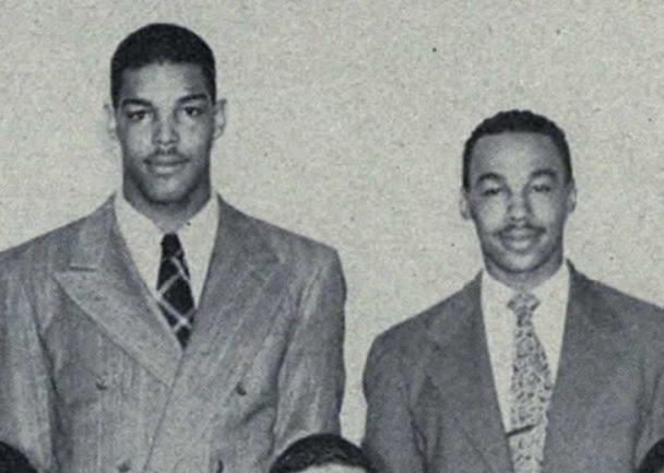 Len Ford and Bob Mann (1947)