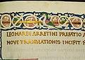 Leonardo bruni, traduzione della vita marci antonii di plutarco, firenze 1450-75 ca. (bml, san marco 332) 04.jpg