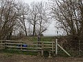 Level crossing for footpath - geograph.org.uk - 387205.jpg
