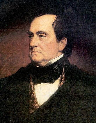 1848 United States presidential election - Image: Lewis Cass crop