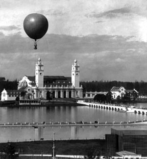 Lewis and Clark Expo Portland Oregon ballon at entrance.jpg